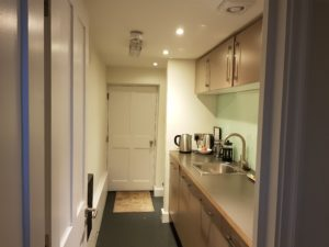 23 Grand Parade kitchenette